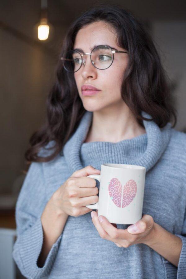Taza Blanca Ceramica Hd Personalizada