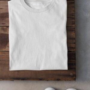 Camiseta algodón corte mujer