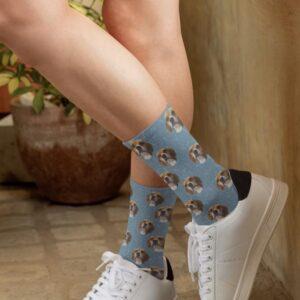 Calcetines altos personalizados unisex