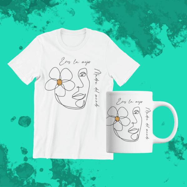 Camiseta Y Taza Pack Dia De La Madre