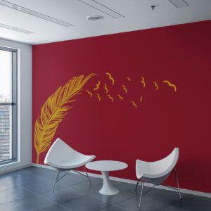 Vinilo decorativo de colores para pared